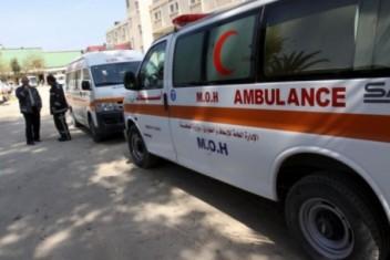 وفاة طفلة بحادث طرق قرب سوق الحلال برفح