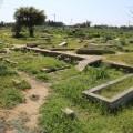 وفد من أوقاف الوسطى ينفذ جولة على المقابر