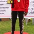 العداء يوسف عبيد  يتوج  بكأس بطولة القطاع لألعاب القوى لسباق 5000م