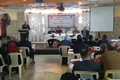 """مديرية شمال غزة تعقد يوماً دراسياً حول """"مخرجات الصحة المدرسية"""""""