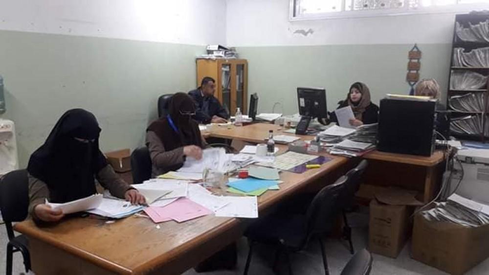 السجلات الطبية بمستشفى الهلال الاماراتي يرحل ما يقارب عشرة آلاف ملف طبي