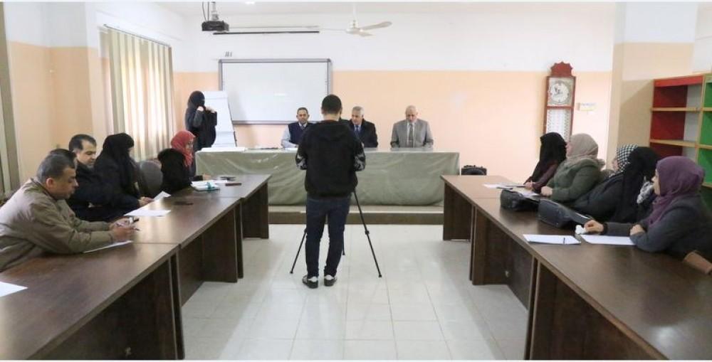 تعليم خان يونس يفتتح ورشة عمل لمناقشة مبادرة