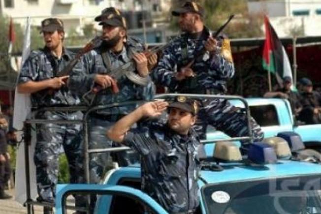 الأجهزة الأمنية في قطاع غزة