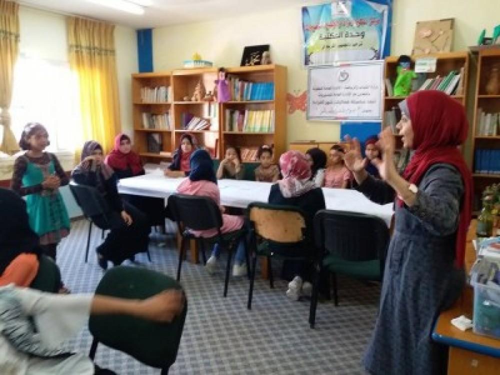 تمكين النصيرات ينفذ مخيما صيفيا بعنوان فرحة عيد لعدد من الأطفال