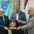 خلال تكريم رئيس الجامعة الاسلامية