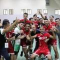 هنية يهنئ فدائي فلسطين لكرة الطائرة بعد فوزهم على الإمارات في البطولة العربية