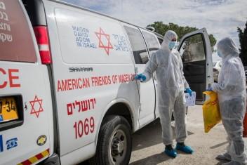 """الاحتلال يسجل أعلى حصيلة إصابات يومية بفيروس """"كورونا"""""""