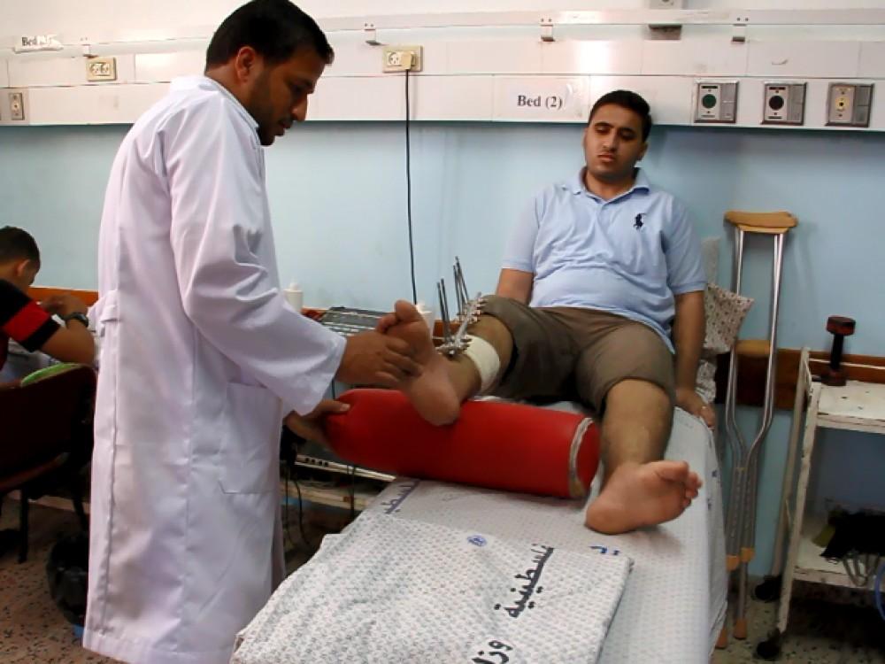 الصحة: 61 ألف مريض يتلقون خدمات العلاج الطبيعي والتأهيل في قطاع غزة