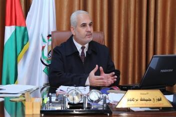 برهوم يطالب عباس بالتراجع عن إجراءاته ضد غزة