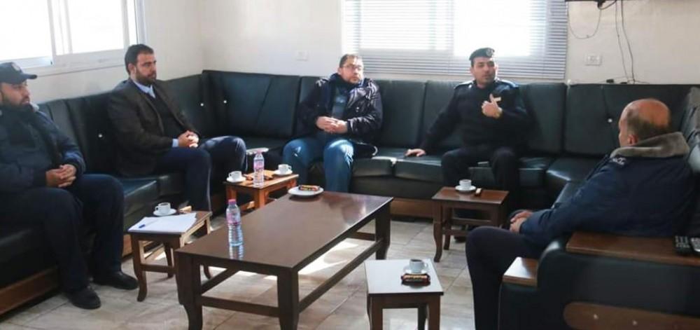 رئيس نيابة خانيونس ومدير شرطة المحافظة يؤكدان على ترسيخ العدالة