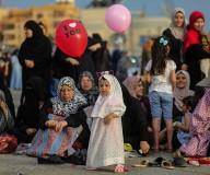 أجواء صلاة العيد.. تصوير: عطية درويش