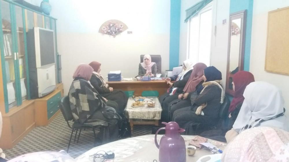 شؤون المرأة بوزارة التنمية تطلع على عمل مركز تمكين الوسطى