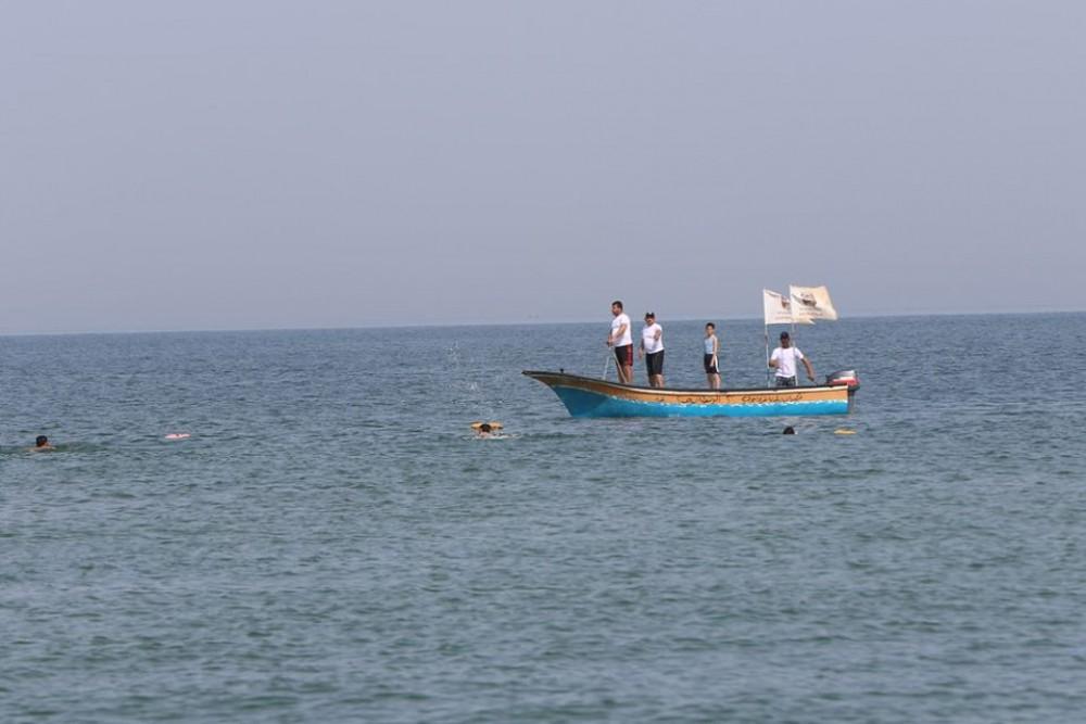 بلدية غزة: تحسن ملحوظ طرأ على نظافة مياه و شاطئ بحر غزة