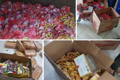 بلدية خان يونس تتلف 113 كجم أغذية فاسدة منتهية الصلاحية