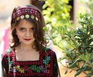 عرض أزياء للثوب الفلسطيني تصوير عطية درويش