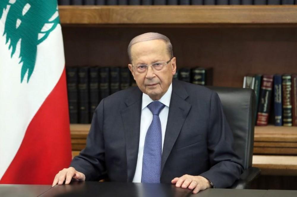 عون: ملتزمون بمبادرة السلامة العربية وضمان حقوق اللاجئين الفلسطينيين