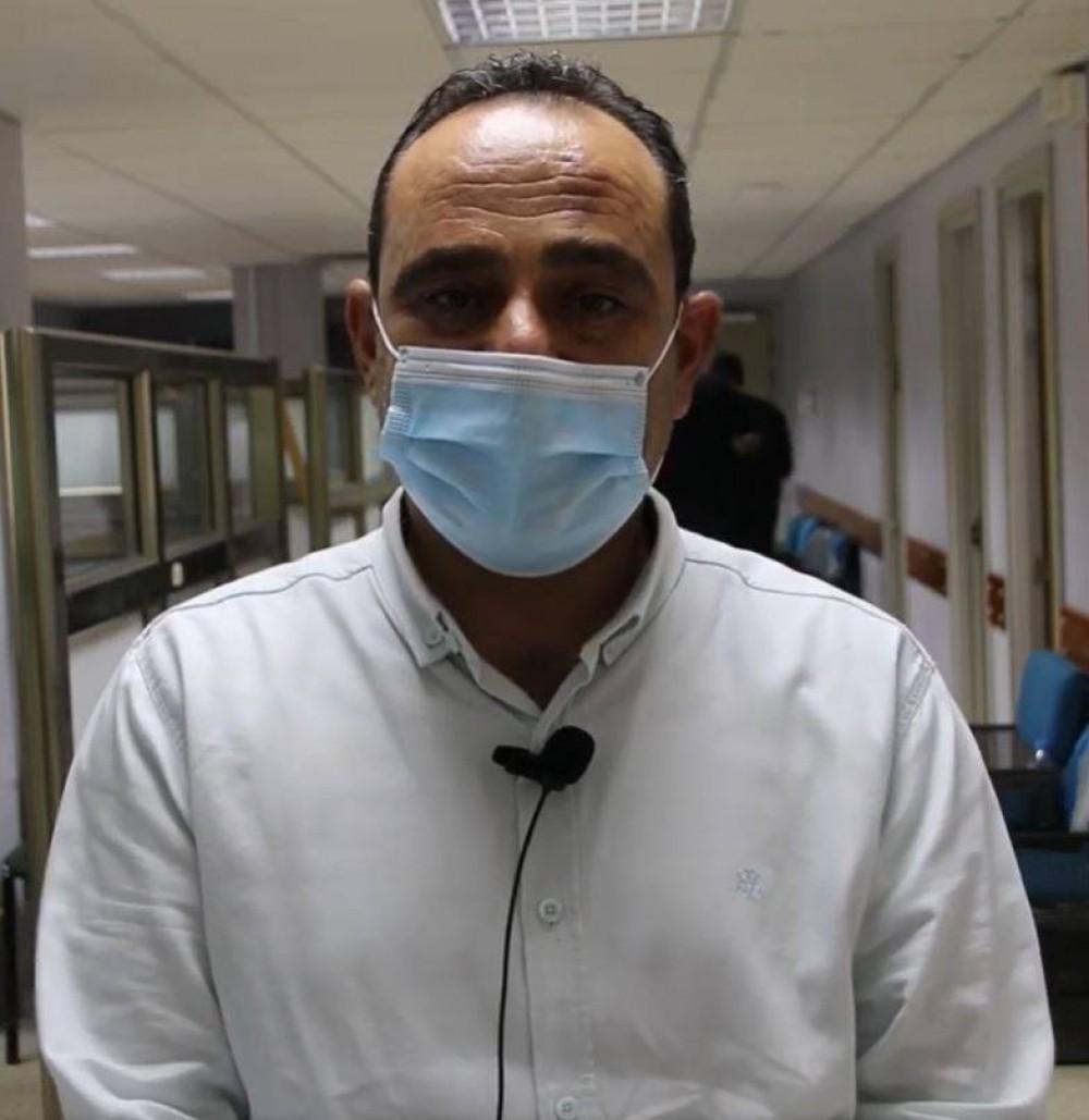 محمود الشيخ علي رئيس فريق التعامل مع جائحة كورونا،
