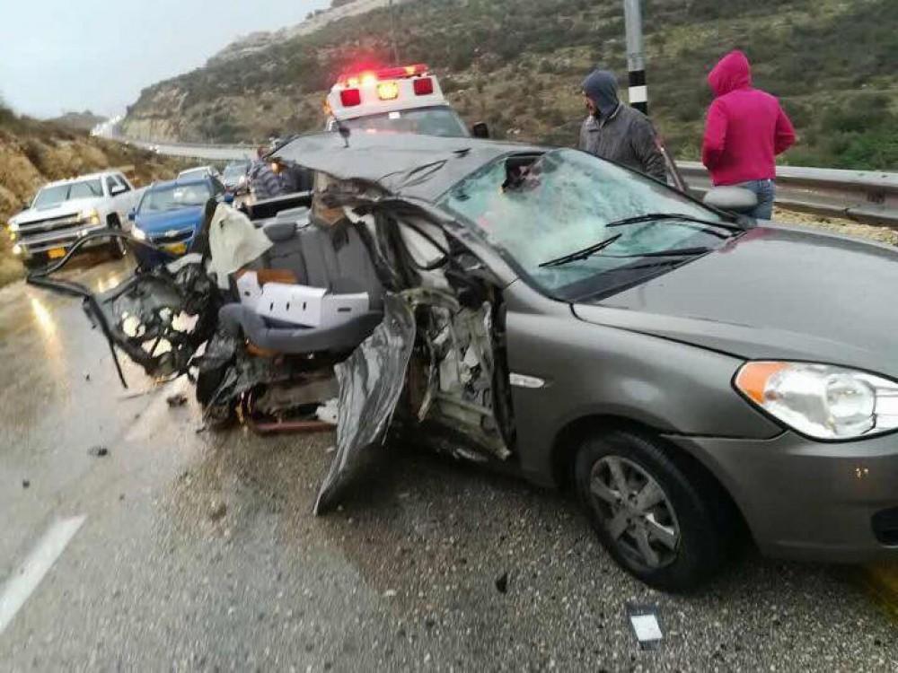 وكالة الرأي الفلسطينية - الضفة: مصرع شخص وإصابة 129 آخرين في
