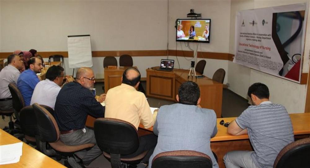 جامعة الأقصى تعقد ندوة مع جامعة بيت لحم وجامعة ديكونيا للعلوم التطبيقية