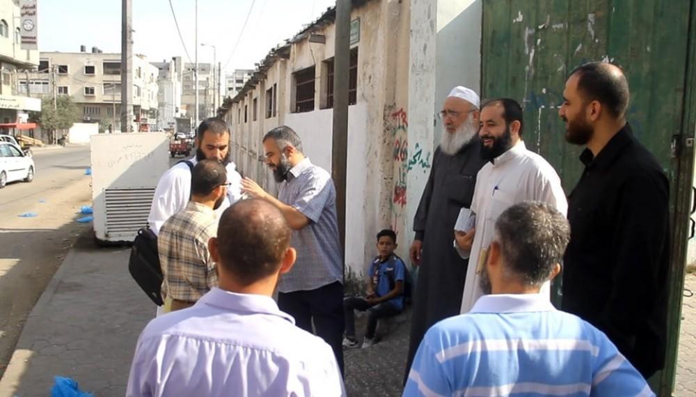 أوقاف غزة تطلق حملة بعنوان