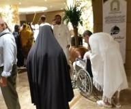 حجاج مكرمة الشهداء يصلون مكة وسط استقبال حافل