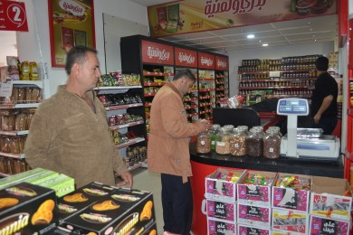 """""""الاقتصاد"""" تشن حملة تفتيش  ومراقبة على الأسواق والتجار جنوب قطاع غزة"""