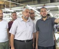 جولة ميدانية للصحفيين نظمتها وزارة الإعلام بغزة لإطلاعهم على عمل المنطقة الصناعية ومديرية المعادن الثمينة والساحة الجمركية.