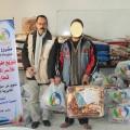 الجمعية الإسلامية بالنصيرات توزع طروداً إغاثية