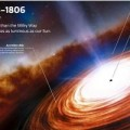 اكتشاف أبعد ثقب أسود هائل على بعد 13 مليار سنة ضوئية من الأرض