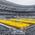 ملعب لوجنيكي يستعدّ لاستضافة روسيا 2018
