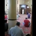 خطيبان يلقيان خطبة الجمعة في مسجد واحد