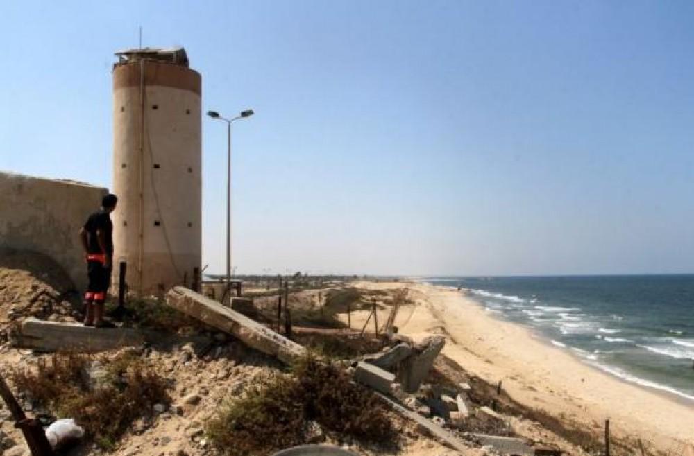 الحدود الجنوبية لقطاع غزة مع مصر