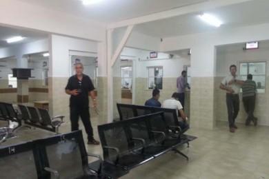وزارة المواصلات تنهي مشروع توسعة صالة ترخيص غزة