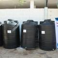 زكاة السطر بالأوقاف توزع خزانات مياه على المحتاجين
