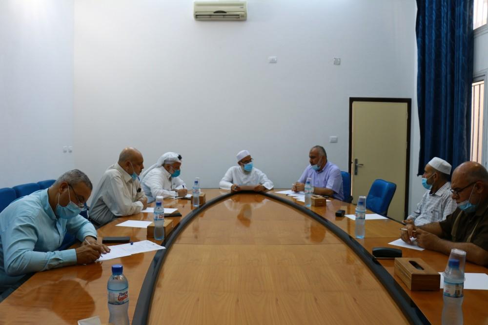 لجنة التربية بالتشريعي تعقد جلسة اسمتاع لوكيل وزارة التنمية الاجتماعية