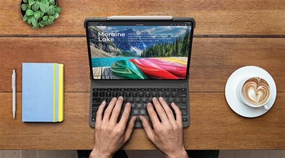 لوجيتك تطلق حافظة لوحة مفاتيح جديدة لجهاز آي باد برو