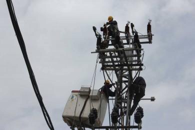 تعطل خط كهرباء مصري مغذي لرفح
