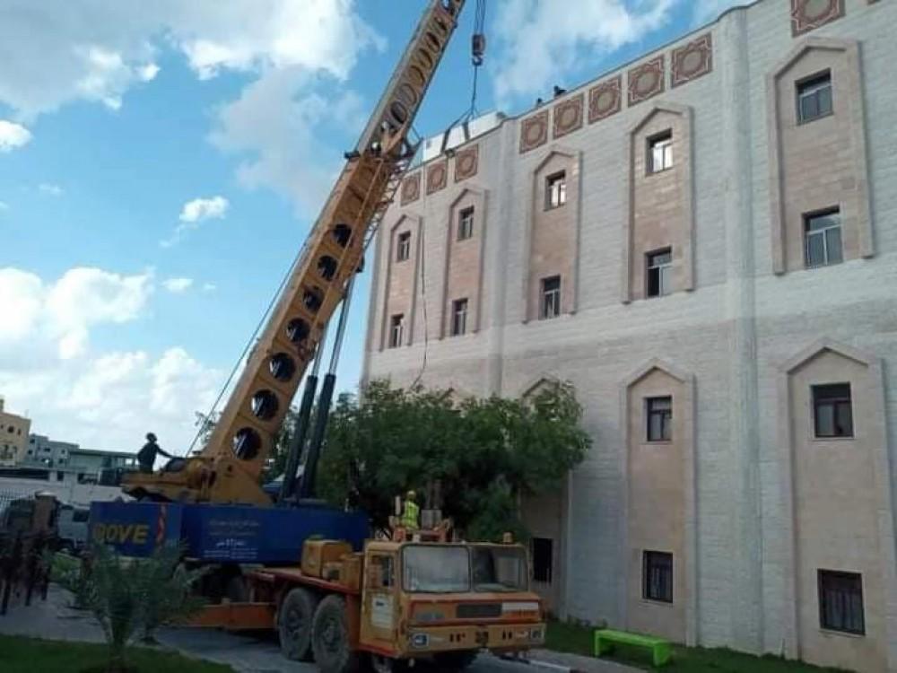 المستشفى الاندونيسي: تشغل محطة التحلية الجديدة