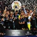 ريال مدريد يتوج بطلا لكأس السوبر الأوروبي