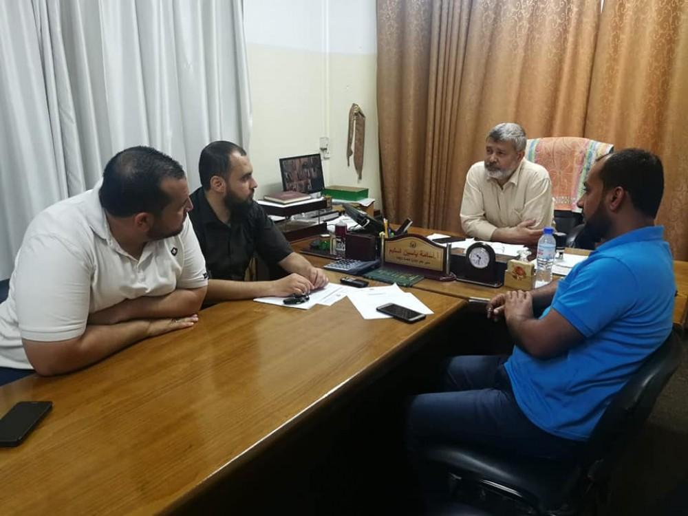 الإدارة العامة للزكاة تعقد اجتماع للجنة زكاة مدينة حمد