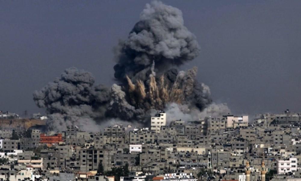 قصف منازل الواطنين