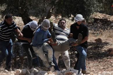 إصابات بعد قمع الاحتلال لمسيرة كفر قدوم الأسبوعية