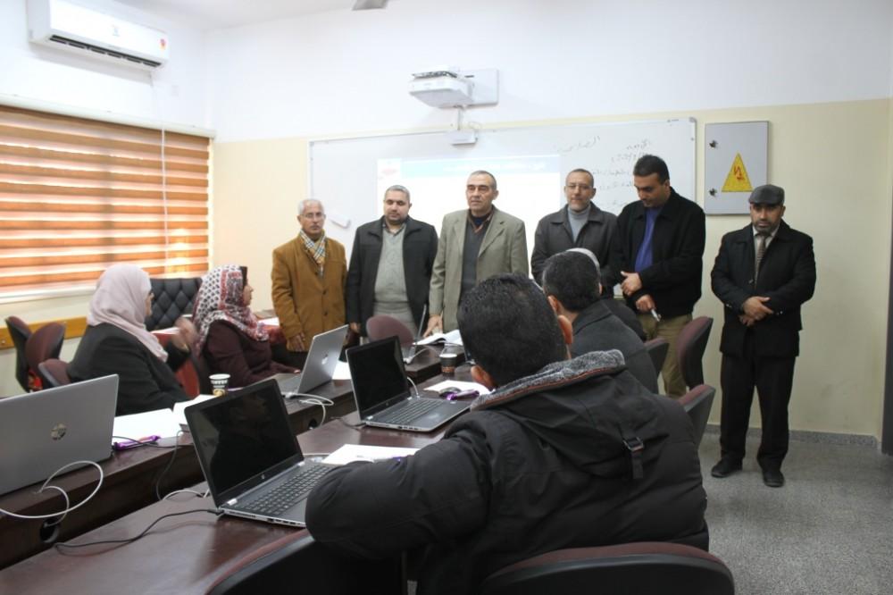 مديرية شمال غزة تفتتح دورة في أمن المعلومات لنواب مدراء المدارس