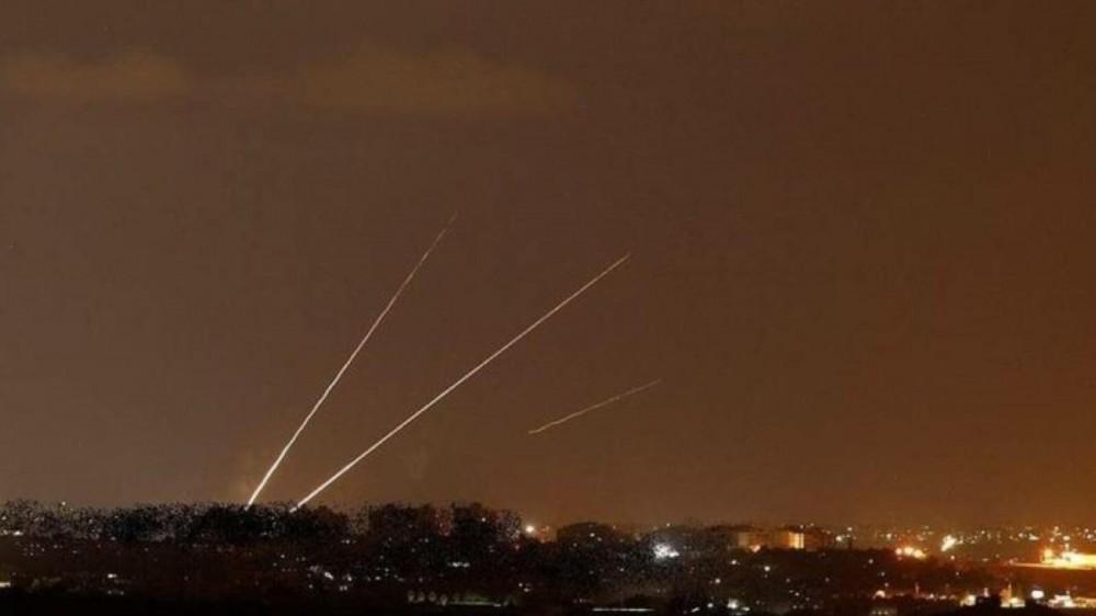 مصدر-3-صواريخ-تستهدف-مستوطنات-غلاف-غزة