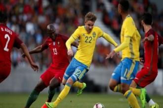 السويد تقلب الطاولة على البرتغال