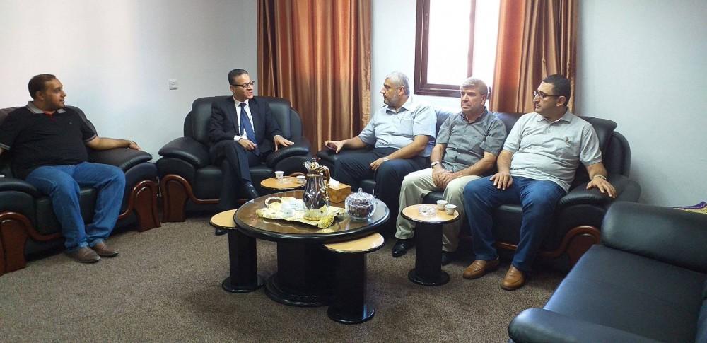 الاعلام الحكومي يعزز تعاونه مع المجلس الأعلى للقضاء وديوان الفتوى والتشريع