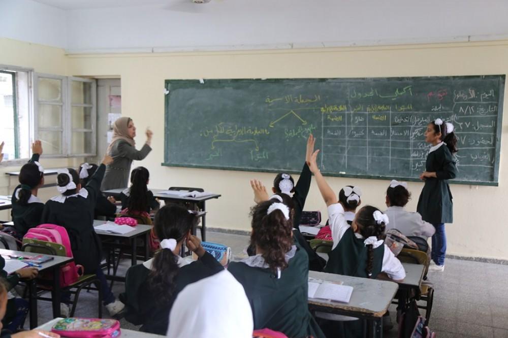 جانب من تفاعل الطلبة مع التعليم الاستدراكي