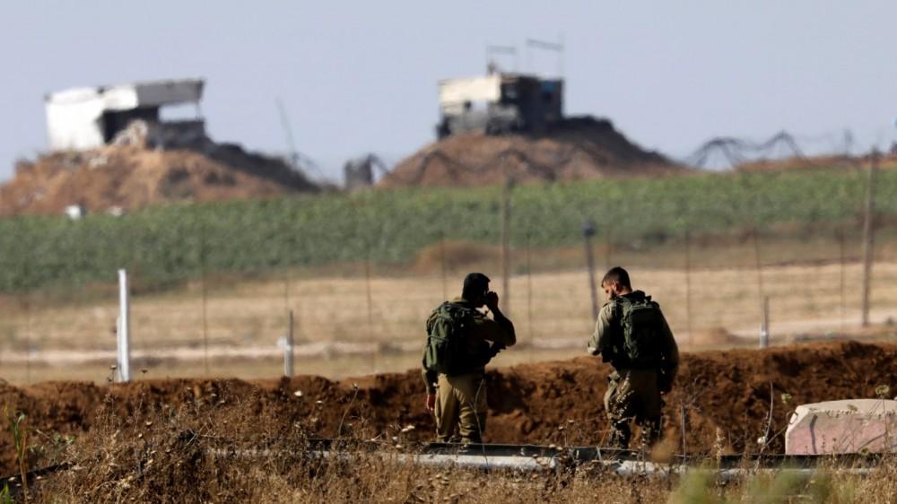 قوات الاحتلال على الحدود الشرقية لغزة