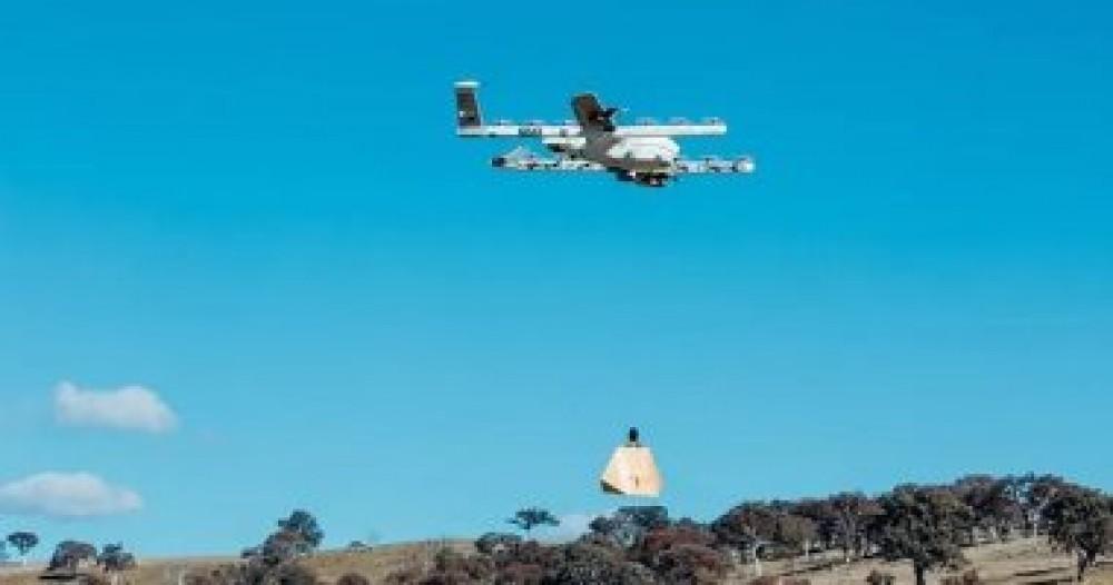 جوجل تبدأ تسليم الطلبات باستخدام الطائرات بدون طيار بأمريكا
