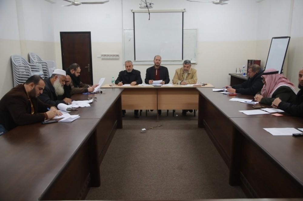 لجنة تطوير المساجد بالأوقاف تعقد ورشة عمل حول النهوض بالمساجد